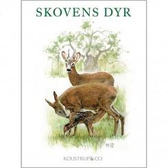SKOVENS DYR - 8 forskellige dobbeltkort