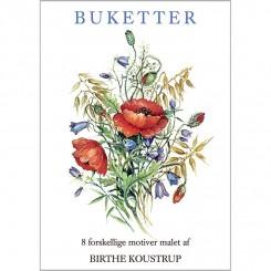 BUKETTER - 8 forskellige dobbeltkort
