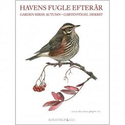 HAVENS FUGLE EFTERÅR - 8 forskellige dobbeltkort