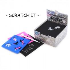 Scratch It Holografisk + skabelon