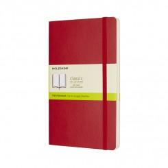 Moleskine Classic, blank, red