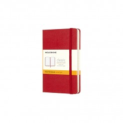 Moleskine Classic hard, Linieret , Red