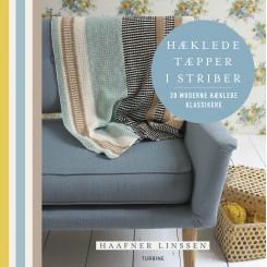 Hæklede tæpper i striber