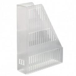 Bantex tidsskriftholder plast, transparent