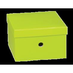 Opbevaringskasse, grøn