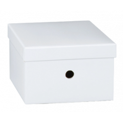 Opbevaringskasse, hvid