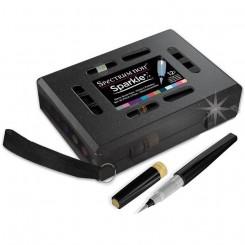 Spectrum Noir glitter brush, Vintage Hues, 12 stk.