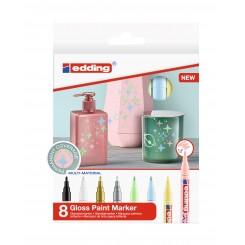Edding Gloss Paint Marker 751, Pastel