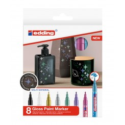 Edding Gloss Paint Marker 751, Metallic