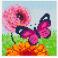 Pixelsæt - Sommerfugl