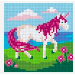 Pixelsæt - Enhjørning