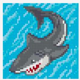 Pixelsæt - Haj