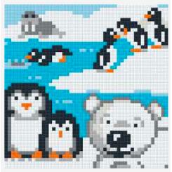 Pixelsæt - Pingviner