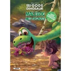 Den gode dinosaur - malebog m/opgaver