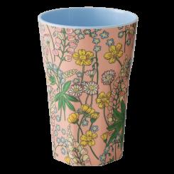 Rice latte kop, Lupin print