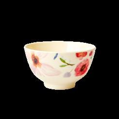 Rice lille melamin skål, Selmas flowers