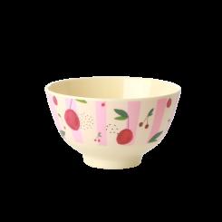 Rice lille melamin skål, Cherry