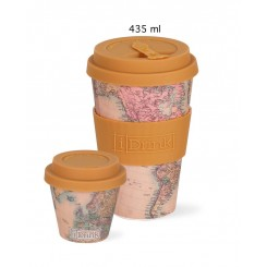 iDrink ToGo kop 435 ml, map sand