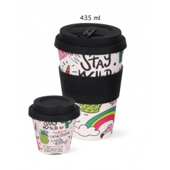 iDrink ToGo kop 435 ml, unicorn
