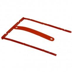 B-binder, rød, 1 stk.