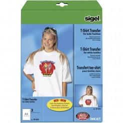 Sigel T-shirt transfer, 3 ark