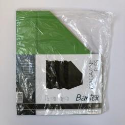 Bantex tidsskriftholder pap 3 stk., grøn