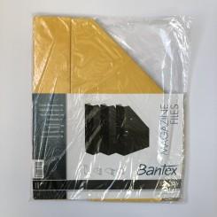 Bantex tidsskriftholder pap 3 stk., gul