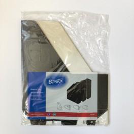 Bantex tidsskriftholder pap 3 stk., sort