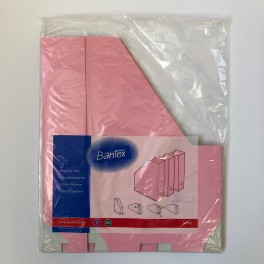 Bantex tidsskriftholder pap 3 stk., lyserød