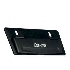 Bantex Slim, hulmaskine til ringbind, sort