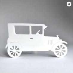 RYBORG Magnet - Klassisk bil fra 1927