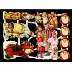 Glansbilleder julemotiv / 3-7160