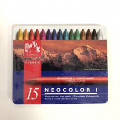 Neocolor I, classic, 15 farver