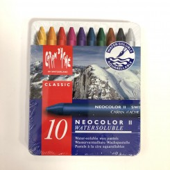 Neocolor II, classic, 10 farver