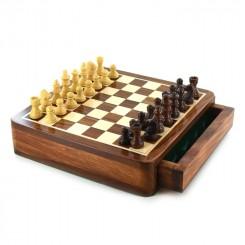 Magnetisk skak, træ