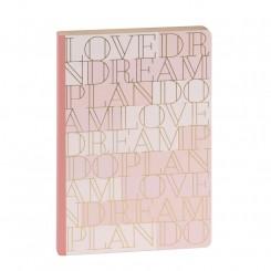 Artebene notesbog med prikker, Love, A5