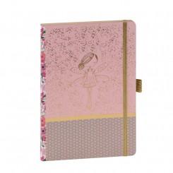 Artebene notesbog med prikker, Fairy, A5