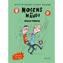 Mogens og Mahdi spiller fodbold