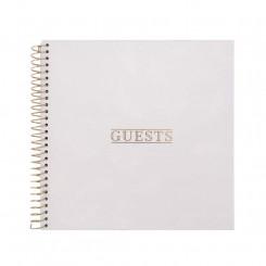 Artebene Gæstebog, Guests