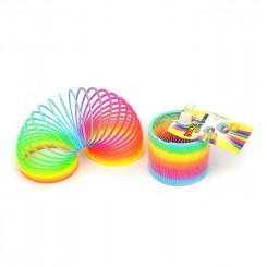 Rainbow spiral, plastik, 9,5 cm