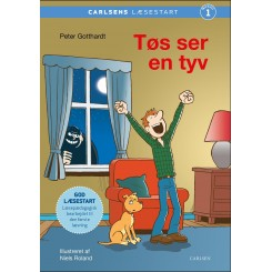 Carlsens læsestart - Tøs ser en tyv