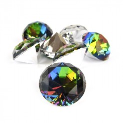 Diamant, farvet, 3 cm