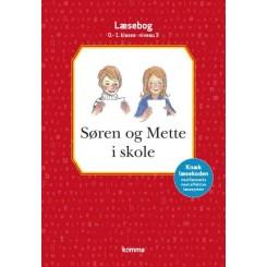 Søren og Mette i skole læsebog 0-1. kl. Niv.3