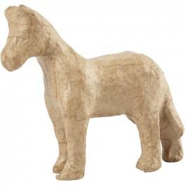 Hest, H: 10,5 cm, L: 12 cm, 1stk.