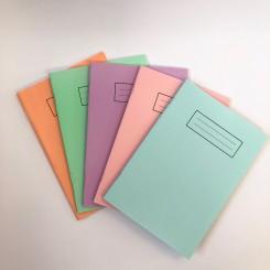 Silvine notesbog A4, Pastel