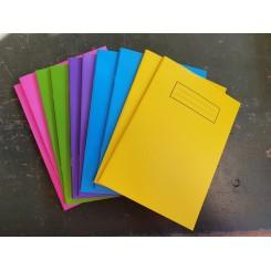 Silvine notesbog A4, stærkefarver