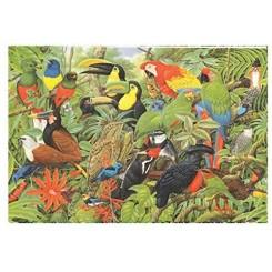 Puslespil Birds of Costa Rica, 1000 brikker