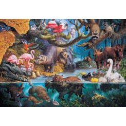 Puslespil Water world, 1000 brikker
