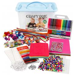 Hobbybox, str. 34x24x20 cm, ass. farver, 1stk.