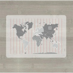 LærLet - Verdenskort med QR kode